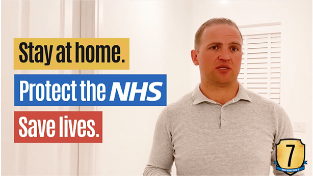 Protect the NHS Stay at Home Save Lives